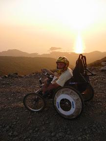 ftt fauteuil tout terrain randonnées autonomie descente